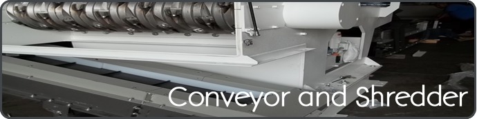 Conveyor Shredder